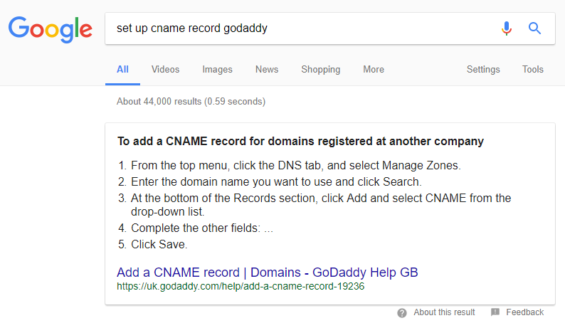 dns google 1